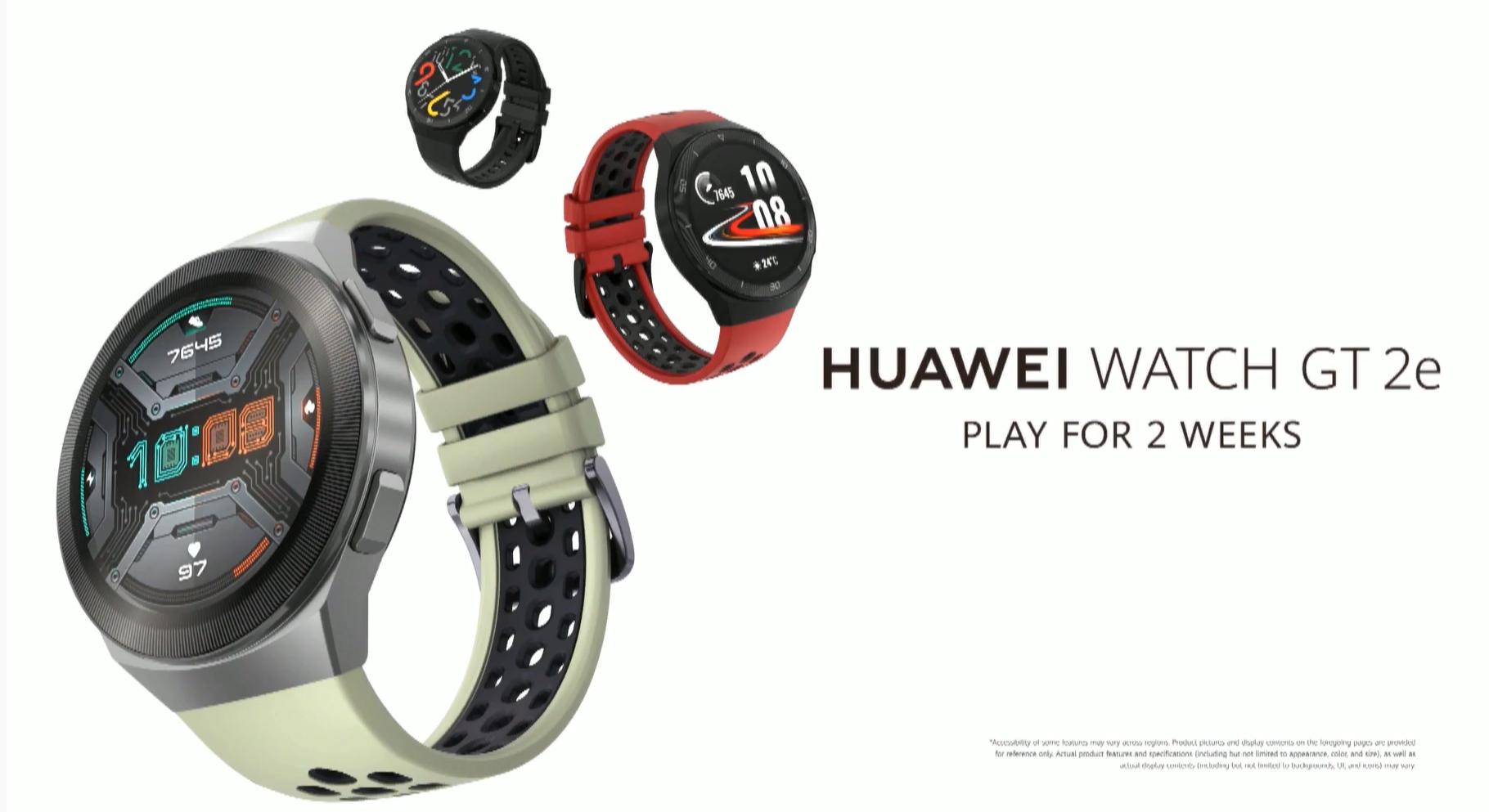 Fiatalokat célozza a Huawei Watch GT 2e