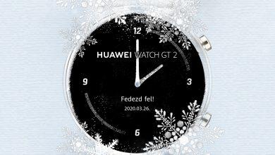 A P40-nel debütál a Huawei Watch GT 2e