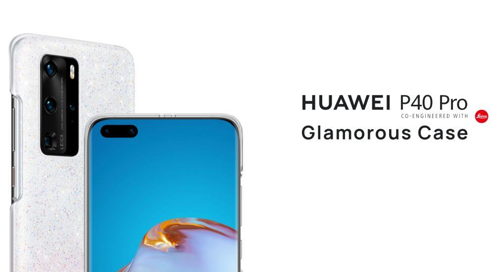 Swarovski kövekkel kirakott tok a Huawei P40 Próhoz