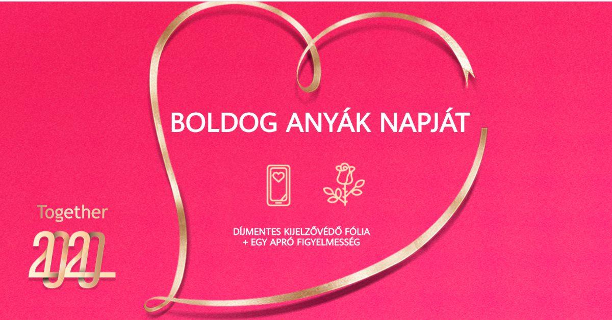 Anyák napi ajándék a Huawei budapesti szervizeiben