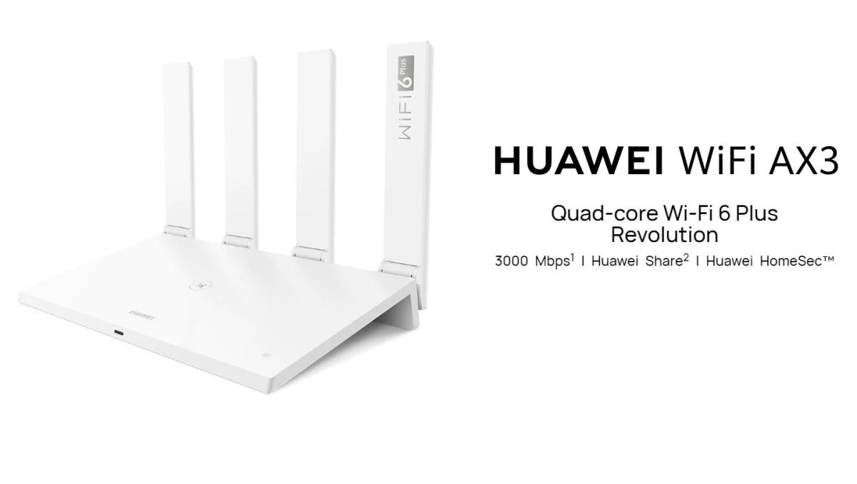 Megjelent a Huawei AX3, az első Wi-Fi 6+ router