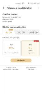 Így aktiválhatod az extra Huawei Cloudot a P40 széria készülékein