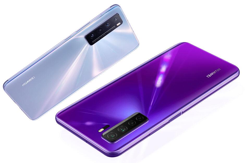 Huawei Nova 7 széria