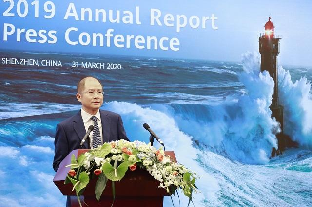 Eric Xu, a Huawei elnöke