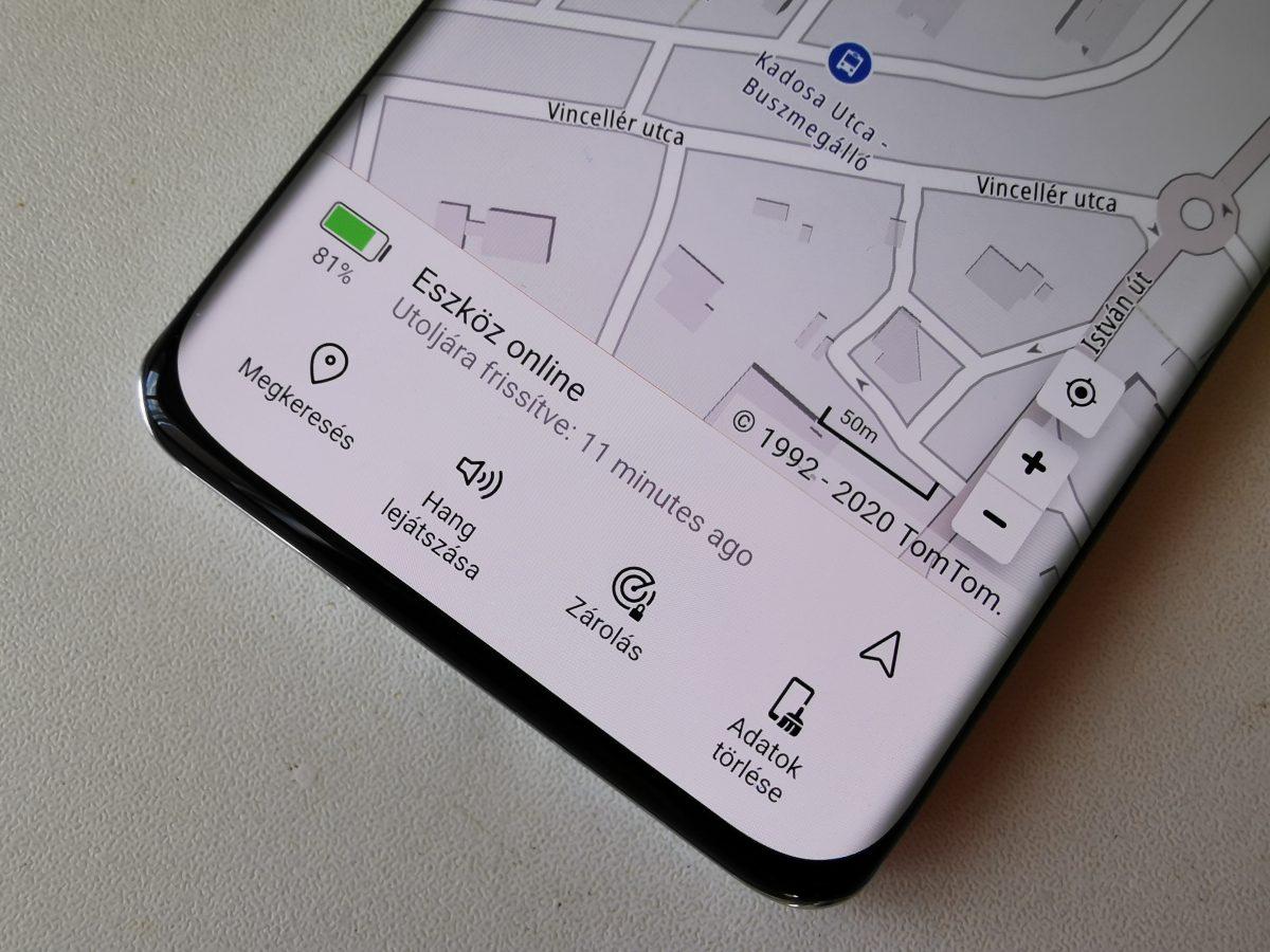 Így működik a Huawei Telefonkereső funkció