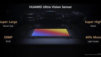 A Huawei Ultra Vision kameraszenzor jóval nagyobb, mint az elődök