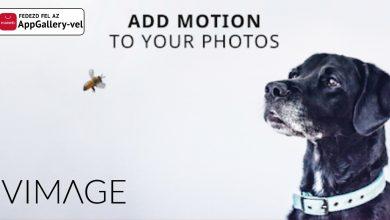 VIMAGE app: cinemagraph animálás fotókból