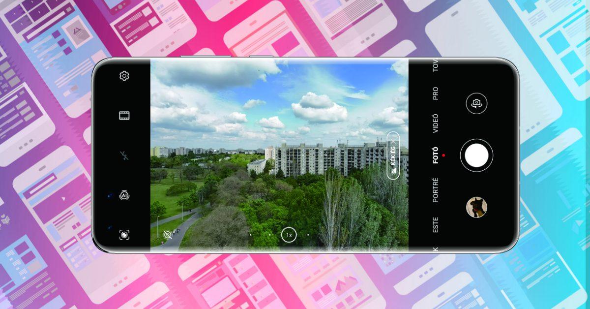 Az EMUI 10.1-ben eltűnik a kamera felbontás
