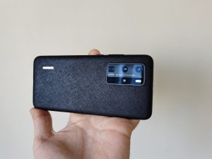 Huawei P40 Pro PU Case bemutató