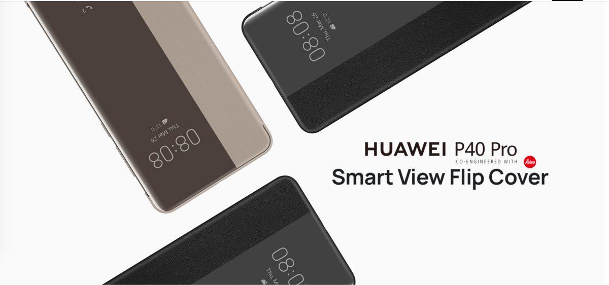 Huawei P40 Pro Smart View Flip Cover