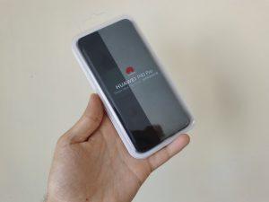 Huawei P40 Pro Smart View Flip Cover védőtok bemutató
