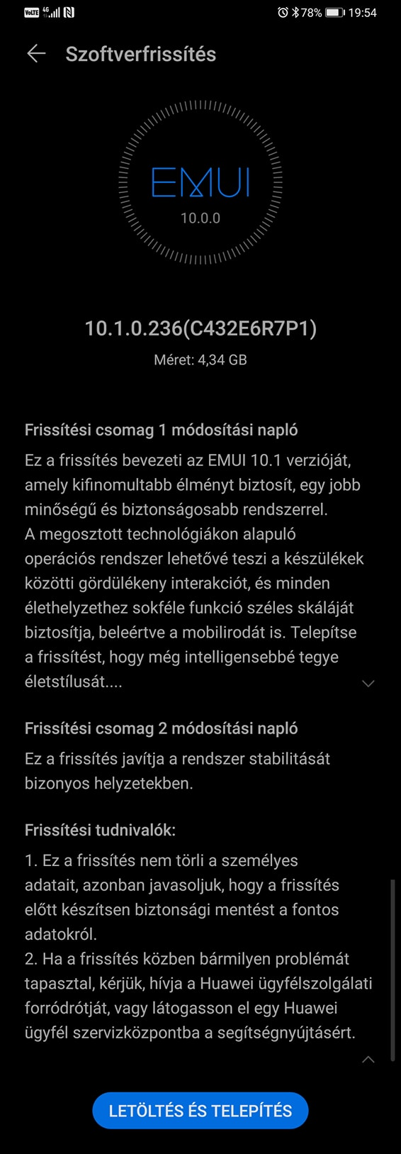 Már a Huawei Mate 30 Pro is EMUI 10.1-re frissül