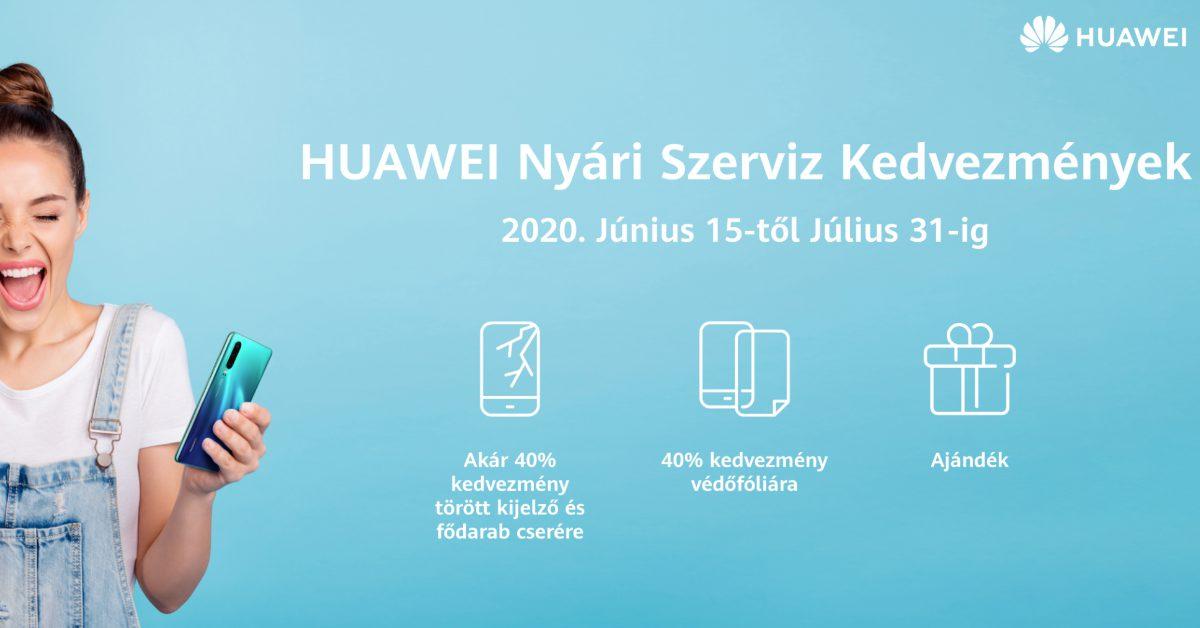 Nyári akció a garancián túli Huawei javításokra