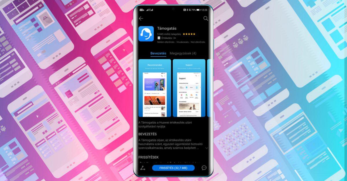 Újabb hasznos funkciót kapott a Huawei Támogatás app