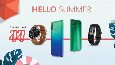 Hello Summer! Huawei akció ráadás termékekkel