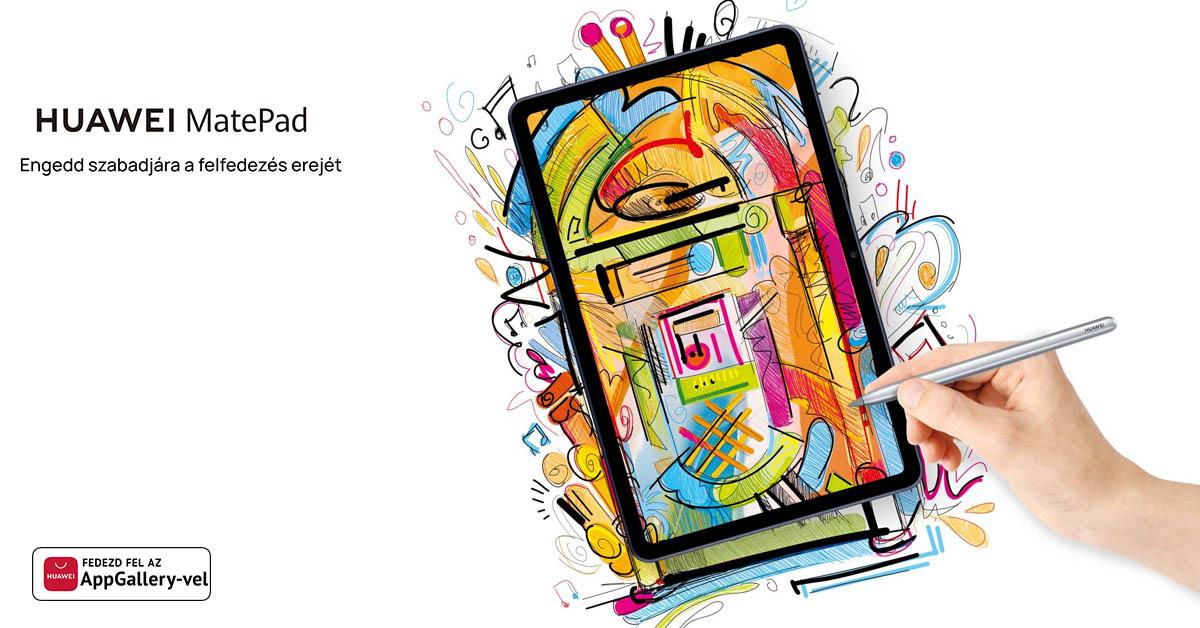 Így lehet rajzolni a Huawei MatPaddel és az M-Pencillel