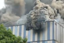 Tűz a Huawei K+F központjában