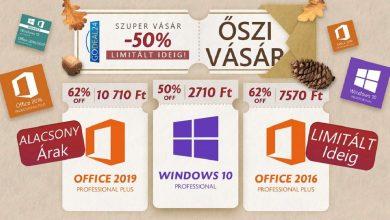 Szerezz eredeti Windows 10-et 2700 Forintért – az akció korlátozott ideig él, rendeld meg most!