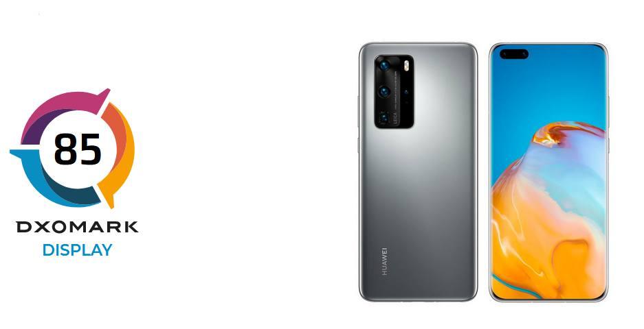 A DxOMark a Huawei P40 Pro kijelzőjét is letesztelte