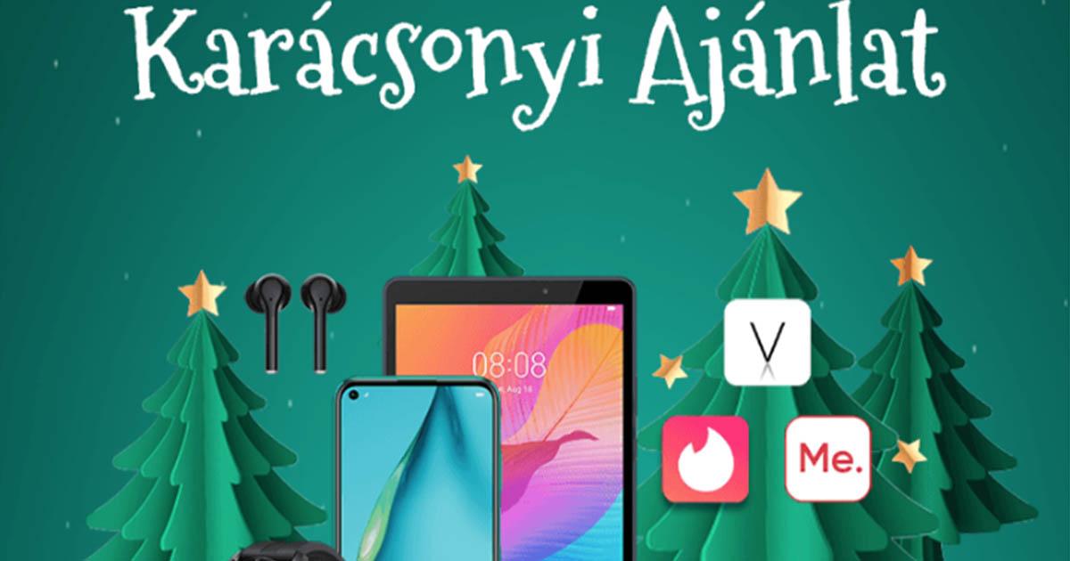 Huawei karácsonyi nyereményjáték az AppGallery-ben