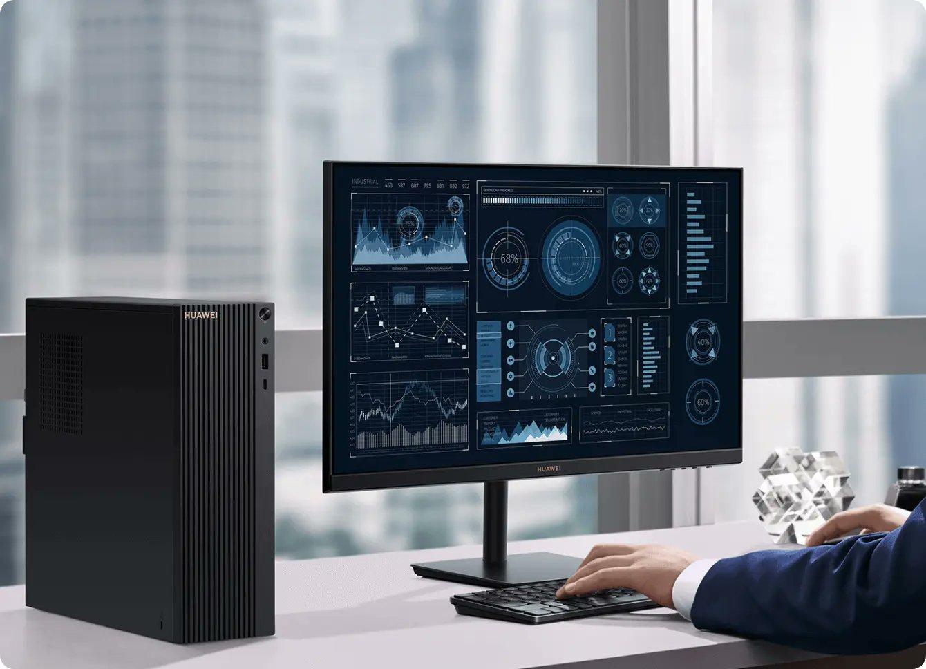 Már asztali PC-je is van a Huawei-nek, itt a MateStation B515