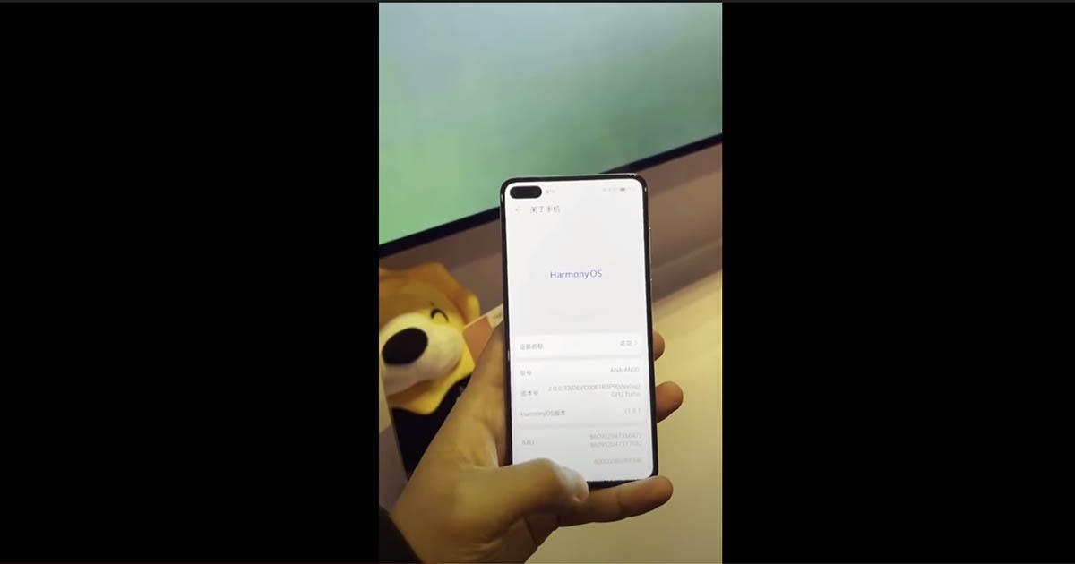 Így fut a HarmonyOS 2.0 Beta a Huawei P40 okostelefonon