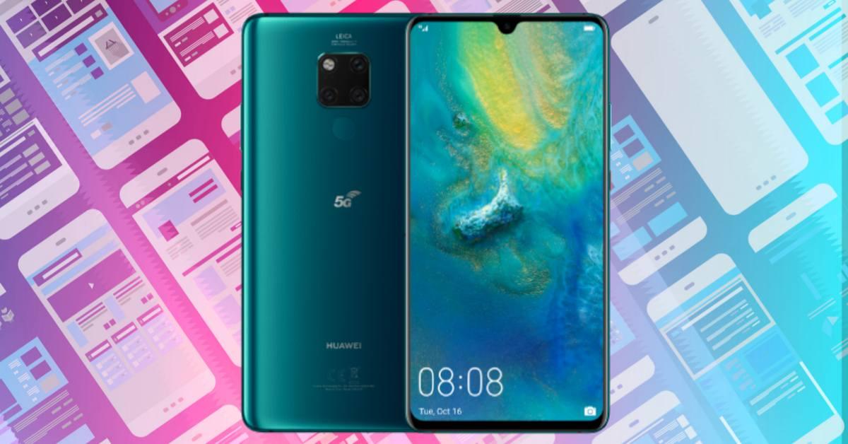 Huawei Mate 20 X 5G szerviz árak