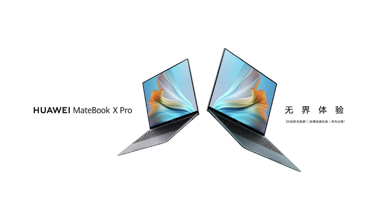 Debütált a Huawei MateBook X Pro 2021 notebook