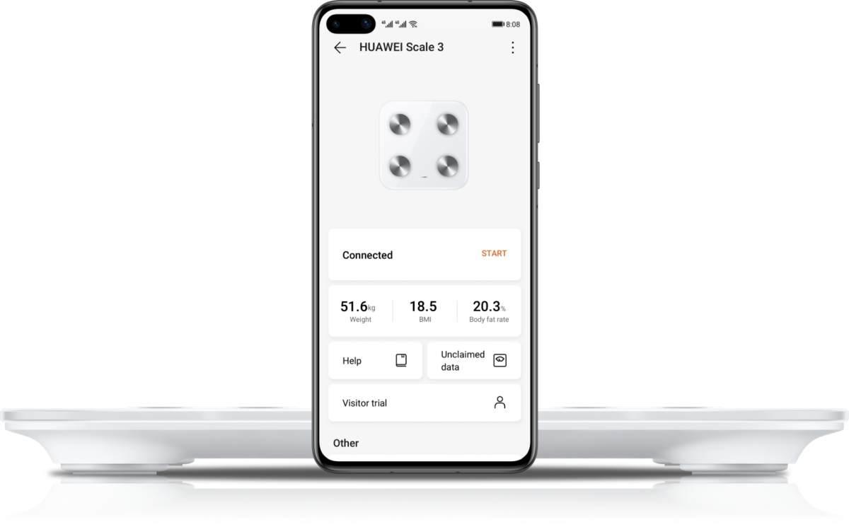 Megjött a Huawei Scale 3 okosmérleg Magyarországra