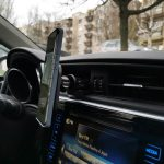 MagSafe autós tartó és töltő