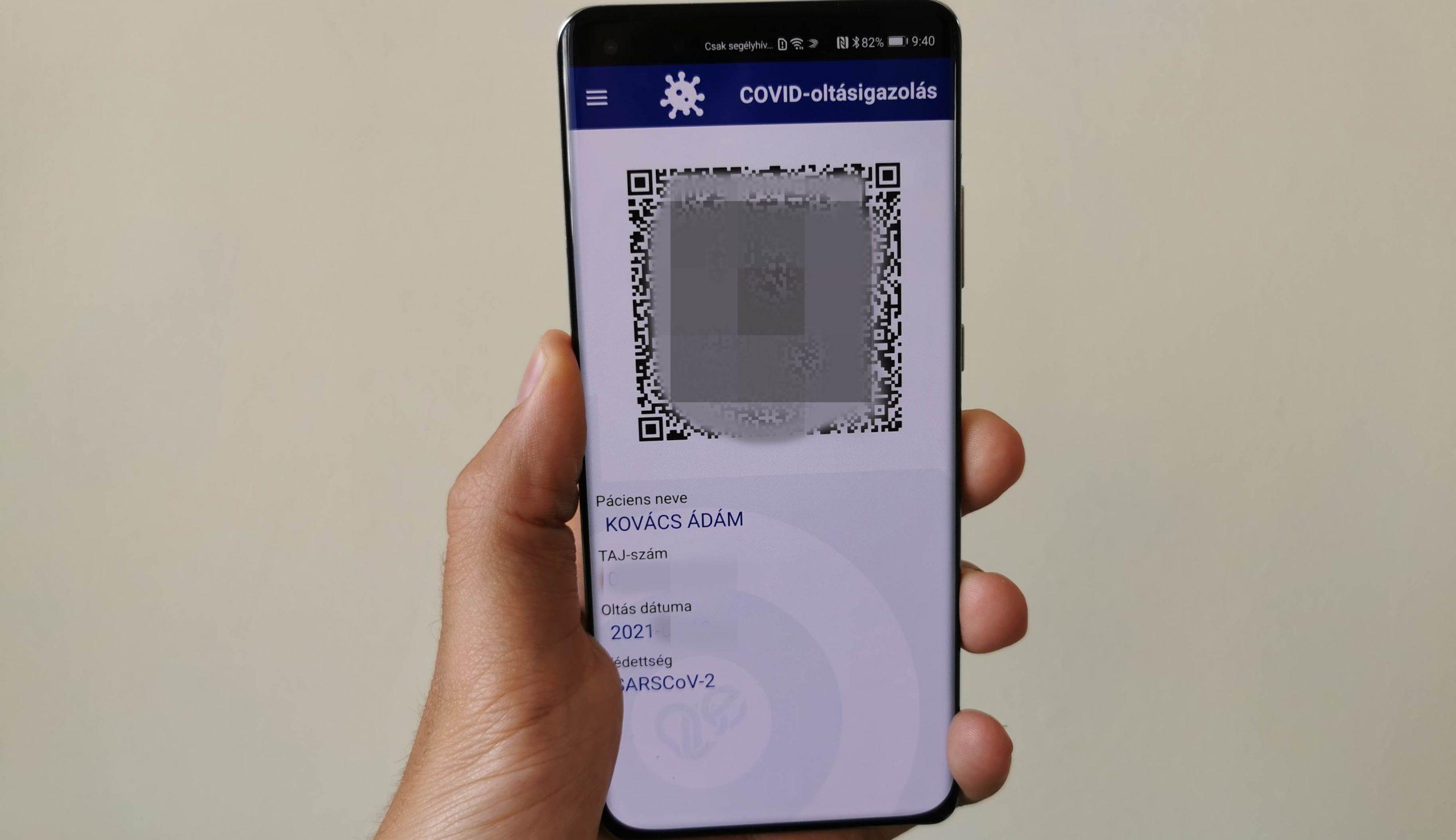 Így használhatod Huawei telefonodon a digitális COVID-oltásigazolást