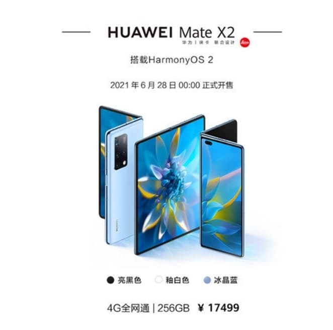 Huawei Mate X2 4G HarmonyOS