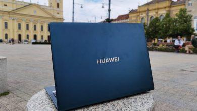 Huawei Matebook X Pro 2021 zöld notebook