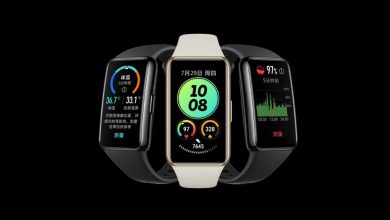 Hőmérést kínál az új Huawei Band 6 Pro okoskarkötő