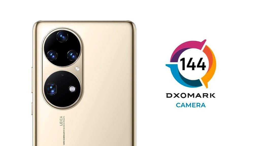 Huawei P50 Pro DxOMark teszt