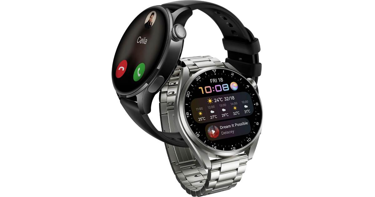 Huawei Watch 3 okosóra