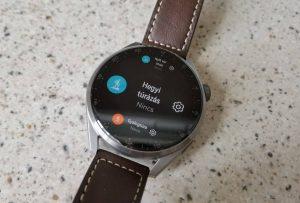 Huawei Watch 3 Pro okosóra teszt