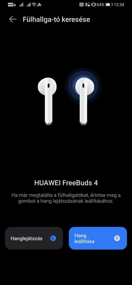 Huawei Freebuds 4 teszt