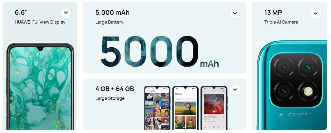 Huawei Nova Y60: új belépőszintű telefon Androiddal