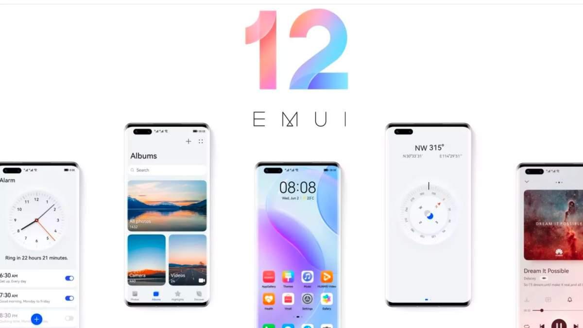 Itt az EMUI 12