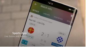 HarmonyOS app okostelefonon