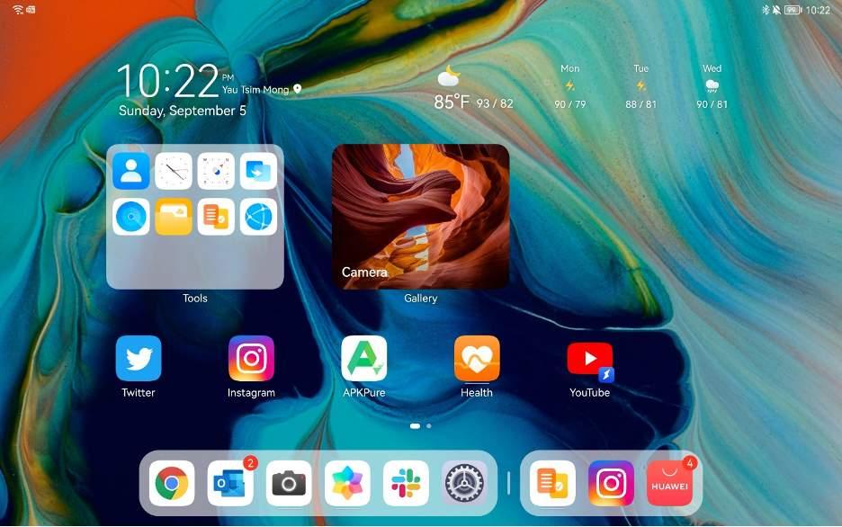 HarmonyOS a Huawei MatePad 11-en