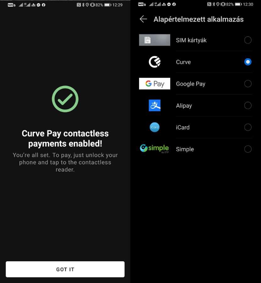 Így állítsd be a Curve Pay-t Huawei-re