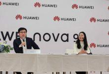 Derek Yu, a Huawei Nova 9 bemutatóját követő interjún